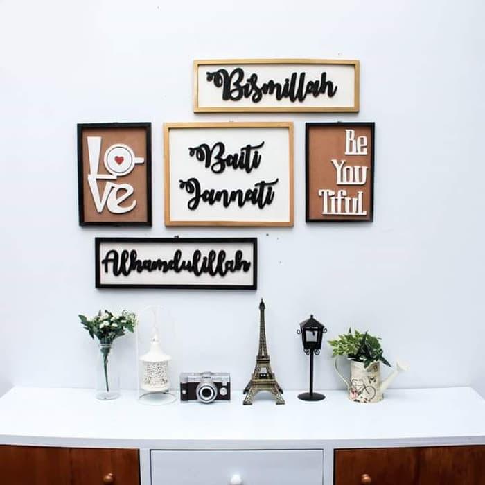 Jenis Hiasan Dinding