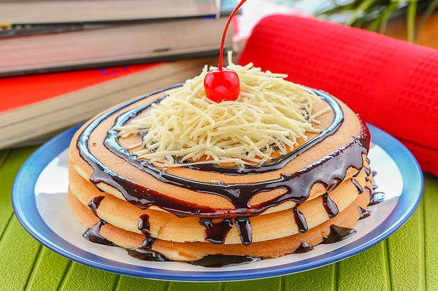 Cara membuat pancake keju