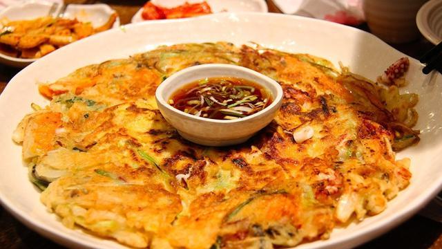 Cara membuat pancake korea