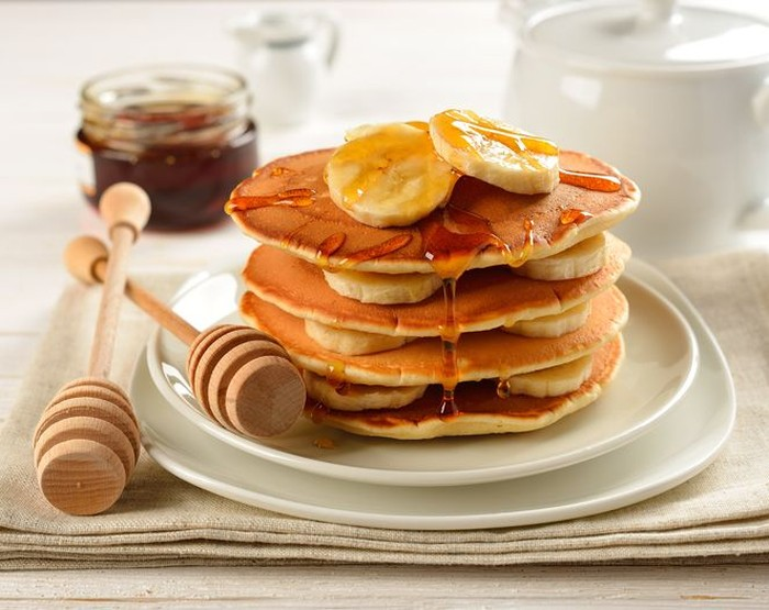 Cara membuat pancake pisang