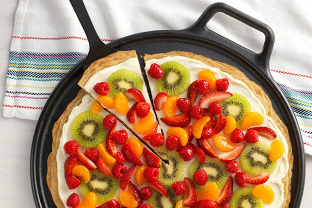 Cara membuat pizza buah