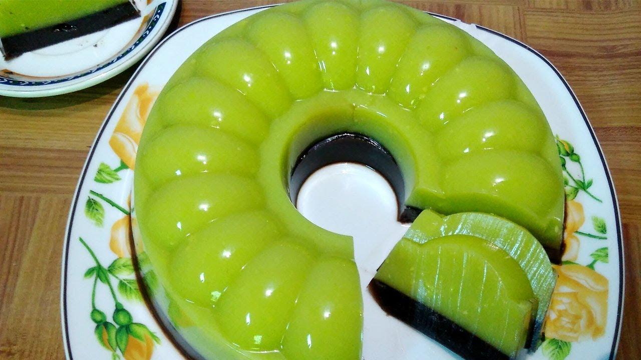 Cara membuat pudding buah alpukat