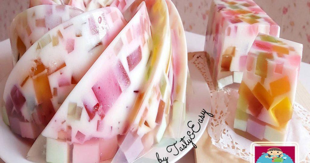 Cara membuat pudding santan nutrijel