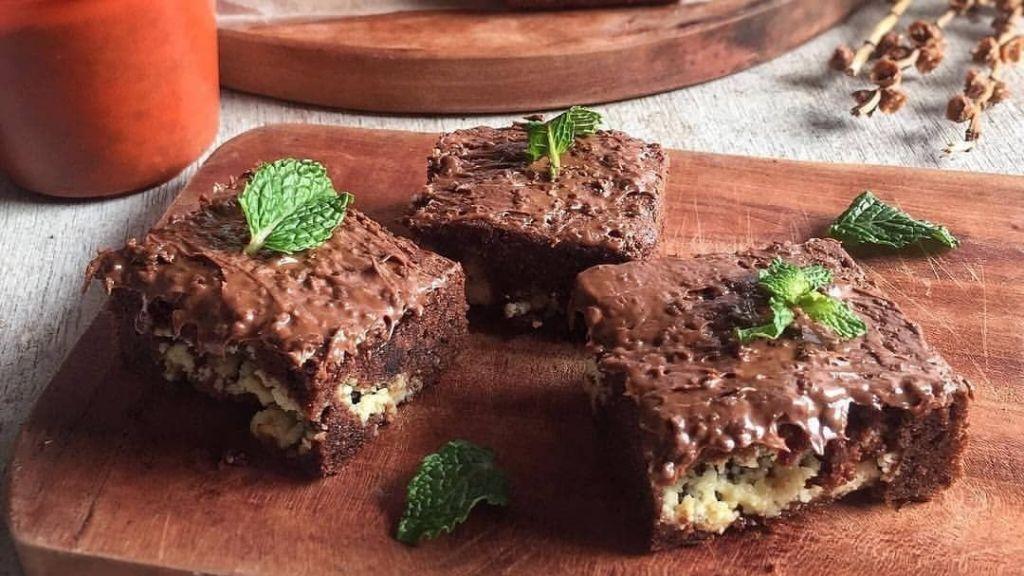 Resep brownies ovomaltine