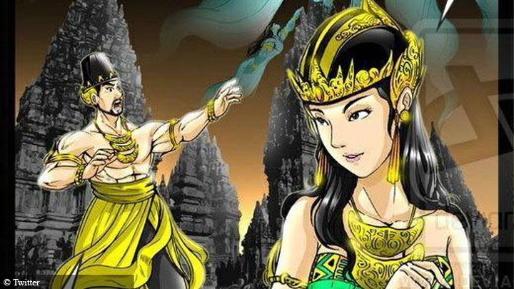 Kisah Cinta Tragis Roro Jongrang dan Bandung Bandawasa