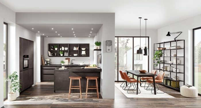 Dapur Dengan Ruang Makan