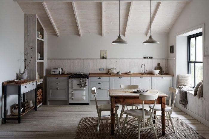 Dapur Gaya Skandinavia