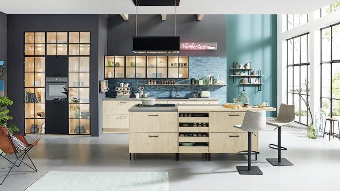 Desain Dapur Bergaya Ala Café