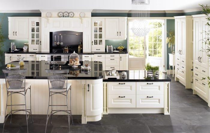Desain dapur Victorian elegan