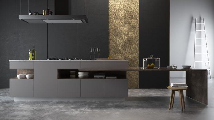Desain dapur modern satu banjar