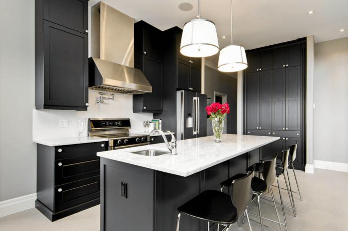 Desain modern kitchen nan elegan